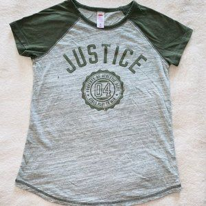 justice t shirt